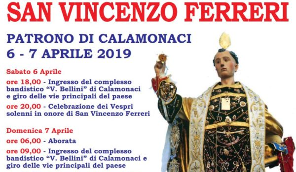 Festa San Vincenzo Ferreri Aprile 2019
