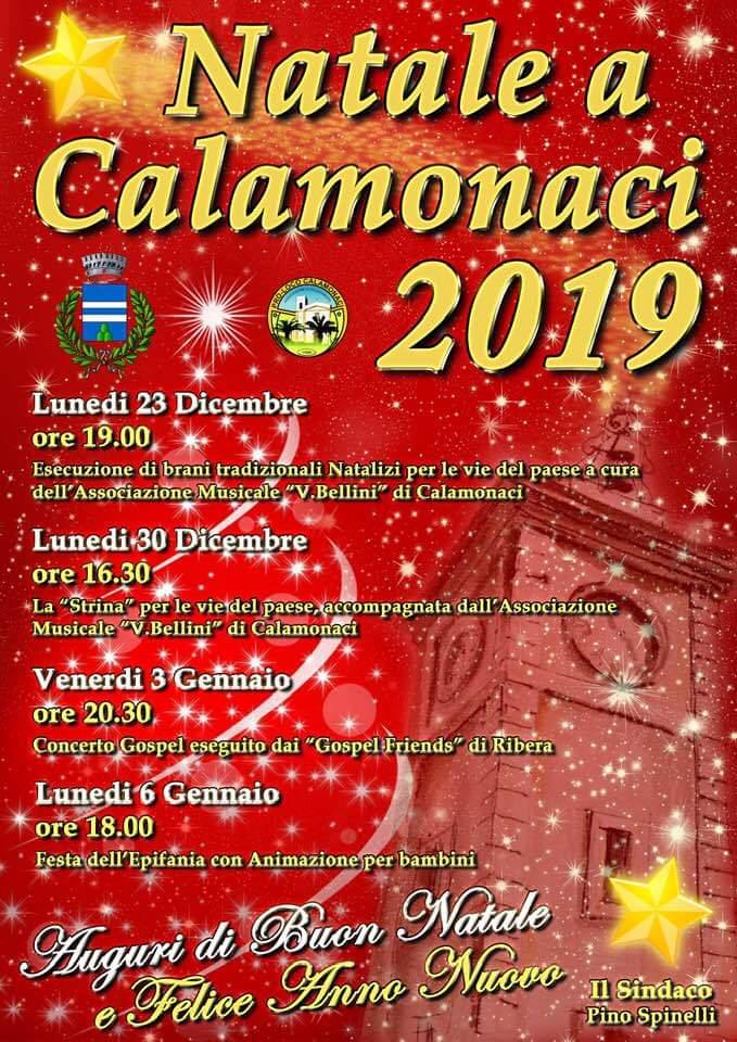 Natale a Calamonaci 2019